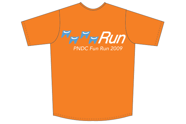 Fun Run T Shirt Design M Draeger Design